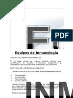 equipos de inmunologia