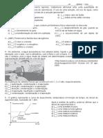 avaliação  1 bimestre FINAL ESTADO 2011 1 EM