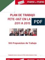 Plan de Trabajo 2011-15 Fete-ugt Uco Pas