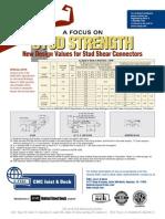 A Focus on Stud Strength CMC FLOOR