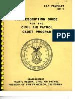 CAPP 20-1 Cadet Program - 05/01/1961