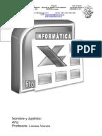 cuadernillo INFORMATICA 6TO