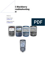 Pge Tsc Blackberry Master Troubleshooting Document