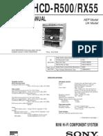 HCD-R500_HCD-RX55
