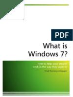 White Paper Windows7 Small Businesses