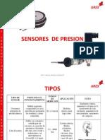 2.2 Clasificación de los sensores de presion