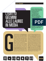 L'EDITTO GELMINI ALLE LAUREE IN MEDIA - Emiliano Germani, CAMPUS, Aprile 2011
