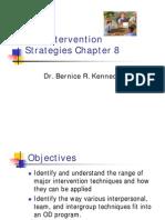 HRDV -Chapter 8- OD Intervention Strategies