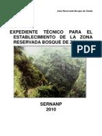 EXPEDIENTE FINAL ZR Bosque de Zárate