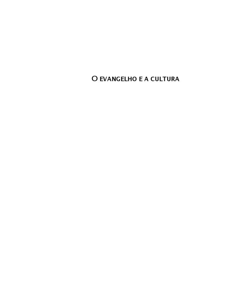 O evangelho e a cultura leituras para a antropologia missionria o evangelho e a cultura leituras para a antropologia missionria timteo carriker fandeluxe Choice Image