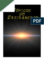Tópicos do Ensinamento - Com Ficha Catalográfica e Folha de Rosto - Versão para Impressão