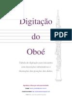 3220078 OBOE Tabela de Digitacao Facilidade Escalas No Oboe Tocar Oboe