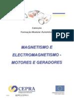 Magnetismo e Electromagnetismo de Motores e Geradores