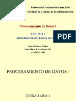 UNIDAD 1 - INTRODUCCION