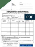 formulaire remboursement