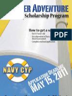 2011 Navy Teen Camp Scholarship Program - Brochure
