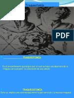 Presentacion deTraqueotomia