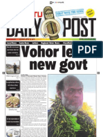 Today's Frontpage April 25 2011