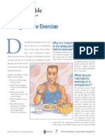 how should i eat before exercise