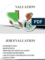 Job Evaluation Presentation