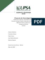 Investigación Legislación y Deontología