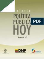 BOLETIN - Politica Publica HOY