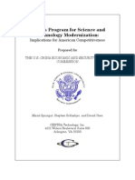 China's Program For Science and Technology Modernization - Implications for American Competitiveness