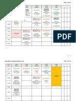 MERP April 2011 Schedule