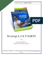 Strategi List Sakti Kaya Dari Internet Marketing