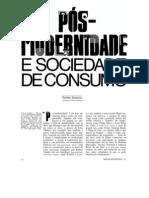 Fredric Jameson - Pós-modernidade e sociedade de consumo
