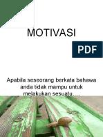 MOTIVASI Siput