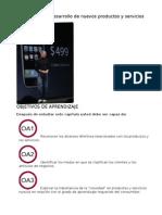 Capítulo 10. Desarrollo de nuevos productos y servicios