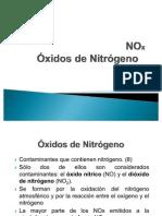 NOx Óxidos de Nitrógeno