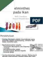 Aquatic Parasitic Worms