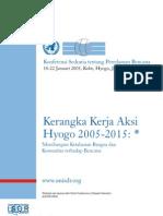 Hyogo Framework for Action Bahasa Indonesia