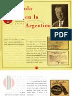 Coca Cola en La Argentina - Pagliano