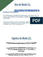 Algebra de Boole y Teoremas