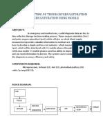 Determination and Analysation of Tissue Oxygen Saturation and Pulse Oxygen Saturation Using Mobile Phones