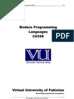 CS508 Complete Handouts