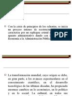 PARADIGMAS Y CAMBIOS DE EN LA ADMÓN PUB