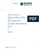 1006 - BackOffice-Integration TAW 12-AUG-09 VER 1.0