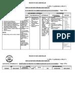 Plan de evaluacion N°1_3° año  3° LAPSO