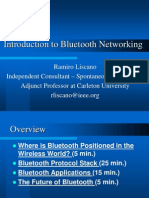 Introduction to Blue Tooth Networking