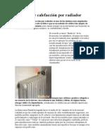 Sistemas de calefacción por radiador
