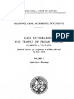 The Judgment of International Court of Justice on the Case of Preah Vihear Temple of the Kingdom of Cambodia