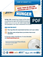 National Letter Carriers Food Drive 2011
