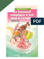 Blyton Enid AWC4 Le Fauteuil Magique n