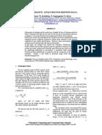 UBICC IKE07 Performance Analysis for Skewed Data 191 191