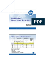 Qualification Compressed Air SystemHP