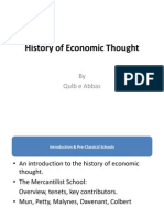 History of Economic Thought Ch 1